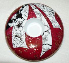 bougeoir lustre et papillons - Photo de 3. Bougeoirs - Carnet de Porcelaine