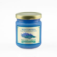 Winterfell Inspired Natural Scented Candle  Game by OldGlowCandles