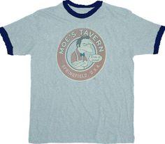 The Simpsons Moe's Tavern T-shirt  $18.95 #tvstoreonlinewishlist