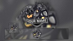 115+ FREE YouTube Gaming Logo, Banner & Avatar Template   Graphic Design Resources Eagle Mascot, Eagle Logo, Steam Avatar, Gaming Banner, Channel Art, Free Youtube, Machine Design, Banner Template, Logo Templates
