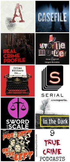 A round up of the most disturbing, morbid, dynamic, and obsession-worthy  true crime podcasts!  #popculture #truecrime #podcasts #myfavoritemurder #realcrimeprofile #serial #casefile