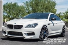 "2014 BMW M6 with 21"" Vorsteiner VFF103 Wheels by Wheel Specialists, Inc. in Tempe AZ . Click to view more photos and mod info."