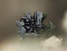 Ecandrewsite, Frondelite. Sítio do Castelo Mine, Folgosinho, Gouveia, Guarda District, Portugal FOV=1.29 mm Photo © Pedro Alves