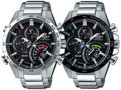 New Casio Edifice EQB501 watches. Featuring the brand's Bluetooth Accurate Time System. Find out what it all means in our latest article.