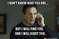 Meme Maker - I DON'T KNOW WHO YOU ARE ... BUT I WILL FIND YOU ...