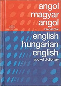 Hungarian-English & English-Hungarian Pocket Dictionary: Amazon.co.uk: Nicholas Bodoczky: 9789630591928: Books