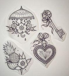 Skin body art inspiration new Ideas Flash Art Tattoos, Body Art Tattoos, New Tattoos, Small Tattoos, Coeur Tattoo, Petit Tattoo, Wolf Tattoos, Finger Tattoos, Tattoo Sketches