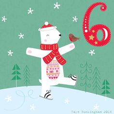 Day 6 Christmas Advent, by Faye Buckingham