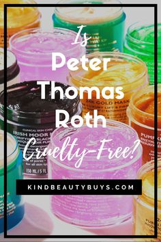 What is Peter Thomas Roth's animal testing policy? Do they sell their products in stores in China? And if they aren't cruelty-free, then find out the best cruelty-free dupes for Peter Thomas Roth products! Click the link to find out... Peter Thomas Roth, Cosmetics Industry, Cosmetic Companies, Animal Testing, Vegan Beauty, Raw Materials, Acne Treatment, Dupes, Vegan Friendly