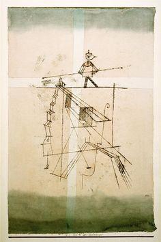 Afbeelding Paul Klee - Der Seiltaenzer, 1923, 121.