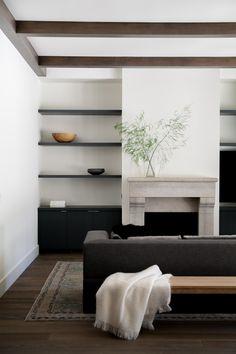 Palo Alto Residence | Interior Design - Living Room #NICOLEHOLLIS Photo by Josephine Liu