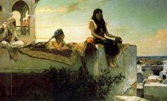 Alberto Pasini Paintings Early | Benjamin Jean Joseph Constant