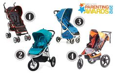 Super strollers for everyday use. Parenting Awards.