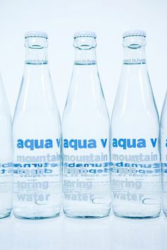 Aquav is the first company in South Africa to provide mineral water in returnable glass bottles. The eco-chic bottles are beautifully designed and durable enough to be returned, sterilised and then re-filled. Mountain Spring Water, Mineral Water, Organic Recipes, Glass Bottles, Drinking, Aqua, Water Bottle, Fresh, Food