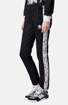 Topshop x adidas Originals Tracksuit Bottoms available at #Nordstrom