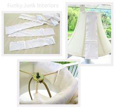 SNS #29 brings you - lampshades! | Funky Junk InteriorsFunky Junk Interiors