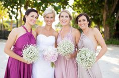 Bridesmaids in our Goddes by Nature dresses #whiterunway #realrunway #bridesmaids
