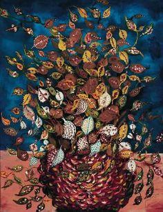 bouquet. Séraphine Louis, peintre autodidacte française