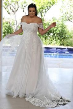 """This Site is so Exciting, it has such BEATIFUL Gowns - Please Check it Out to Find Your Dream Gown  ~IH-PPCWB """"Plus size wedding gowns 2018 Kerrie (2)"""""""