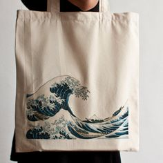 Tote Bag - The Great Wave off Kanagawa (Hokusai)
