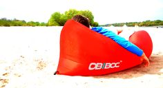 OBIBOC - the innovative, modern ultra lightweight, easy inflatable, extremely comfortable lifestyle facility created to wind up in any given place
