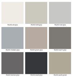 Bildergebnis für grautöne farbtabelle   Außenwandfarbe ... Color palette from image free online tool.