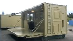 3 in 1 Transforming and Expanding Shipping Container Shelters Photo