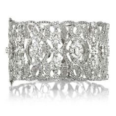 Cuff Bracelet Fancy Antique Vintage Design