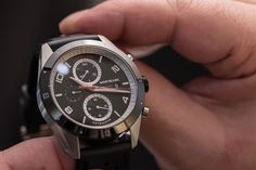 Walking into Montblanc's revamped SIHH booth, it didn't take long to work out what the overarching theme of 2017 would be. If the deconstructed racing chronograph suspended from the ceiling wasn't enough of a clue, the booth staff in stark white racing firesuits certainly gave the game away. ...