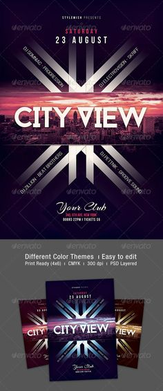 City View Flyer Template PSD | Buy and Download: http://graphicriver.net/item/city-view-flyer/8061741?WT.ac=category_thumb&WT.z_author=styleWish&ref=ksioks