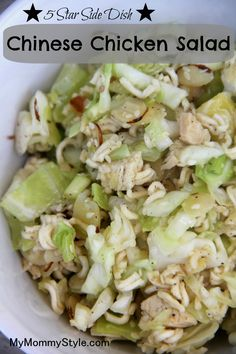 ... salads on Pinterest | Dressing, Salad Dressings and Chinese Chicken