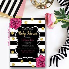 gray fall glitter baby shower invitation gold glitter baby shower