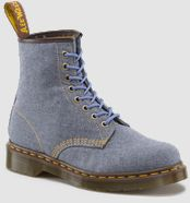 Dr.Martens Air Wair Boots : chambray CASTEL