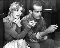 """Jack Nicholson y Jessica Lange en """"El cartero siempre llama dos veces"""", 1981"""