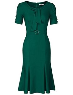 JUESE Women s 50s 60s Formal or Casual Party Pencil Dress... https   7f3eb5dcdf1
