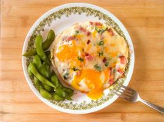 Ham and Cheese Braised Eggs | Cooking with a Wallflower  Mmmm...looks delish!