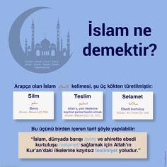 İslam Ne Demektir?