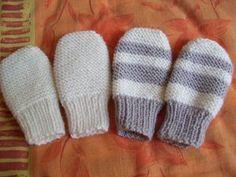 32f7be2dfc6 CHAPITRE 12 - Moufles taille 0 3 mois. Modèle gratuit. - L atelier tricot  de Mam  Yveline. Bonnet Bébé ...
