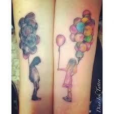 Risultati immagini per tatuaggio palloncini