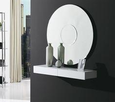 Espejo Burnello - #espejo, #mirror, #spiegel , #mobiliario, #furniture, #design, #diseno, #interiorismo, #interiorism, #deco, #decoration, #decoracion, #dekoration, #diningtable. Bookends, Mirror, Madrid, Furniture, Home Decor, Round Bathroom Mirror, Modern Furniture, Crystals, Interiors