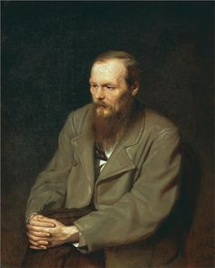 Portrait of the Author Feodor Dostoyevsky, 1872  Vasily Perov
