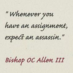 #OCALLENSPEAKS www.thevisionchurch.org www.ocallen.com #God #Vision #Assignment