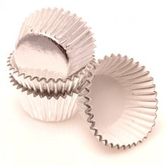 Gygi Silver Foil Baking Cups 50 Ct. - Standard Size