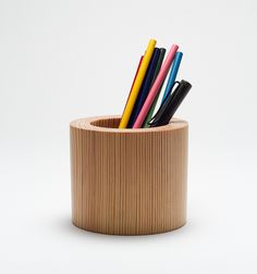 Beautiful desktop pen pot