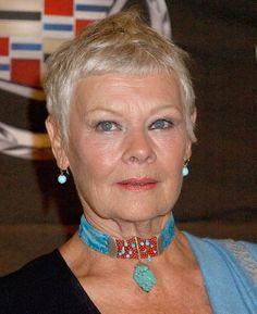 Judi Dench - Mature Hairstyle