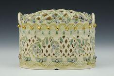 Wild Blueberries Vase, Claire Prenton, Charlie Cummings Gallery