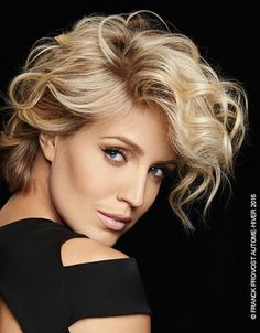 Franck Provost is the friend of the stars who has built an empire dedicated to hairdressing and beauty of women. So every day, thousands of customers Hot Haircuts, Modern Hairstyles, Great Hair, Hair Dos, Hair Designs, Hair Trends, New Hair, Hair Inspiration, Blonde Hair