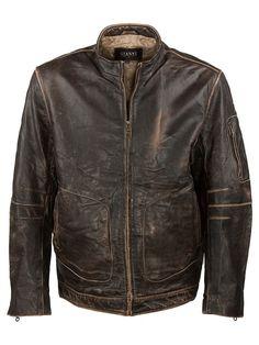 Gianni Vintage Aviator Jacket - L