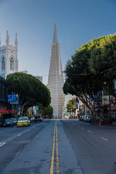 Transamerica Pyramid, Financial District, San Francisco
