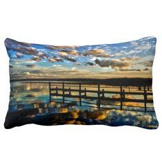 Basin Beauty Throw Pillows